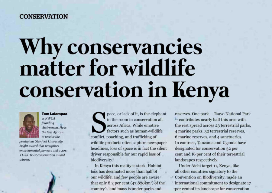 Why Conservancies Matter